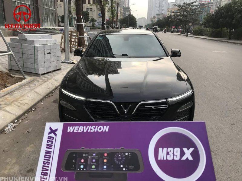 Lắp camera hành trình Webvision cho xe VinFast
