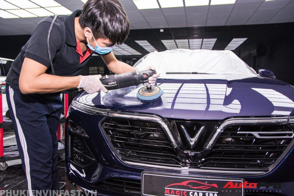 Phủ ceramic ô tô VinFast - Nâng tầm đẳng cấp