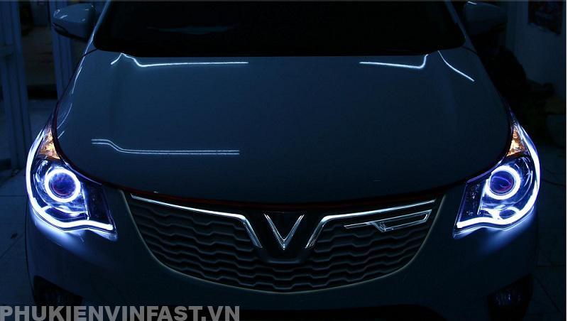 Độ đèn tăng sáng cho VinFast