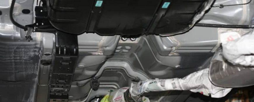sơn phủ gầm cho xe VinFast